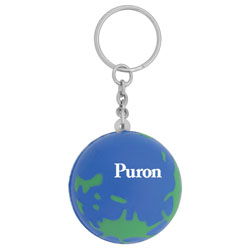 PersonalizedFoam Globe Key Chain