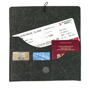 PersonalizedFelt Travel Pouch