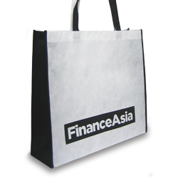 Personalized - Surrey Two Colour Non Woven Shopper