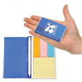 Personalized - Pocket Sticky Notes with Pen