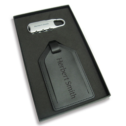 PersonalizedLuggage tag and lock