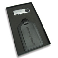 Personalized - Luggage tag and lock