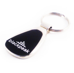 PersonalizedBlack/Shiny Metal Keyring - Prices reduced!!!