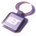 Personalized - Square Metal Keyring - SPECIAL PRICES!!!