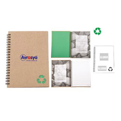 Personalized - Recycled Stone Paper Notebook