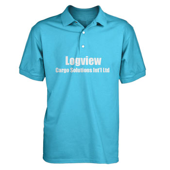 PersonalizedPolo shirts w vinyl decoration