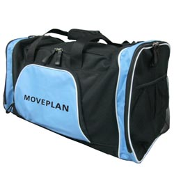PersonalizedSports Bag - Light Blue and Black