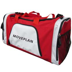 PersonalizedSports Bag - Red and White