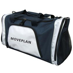 PersonalizedSports Bag - Dark blue and white