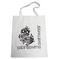 Personalized - Natural Cotton Tote Bag - Medium