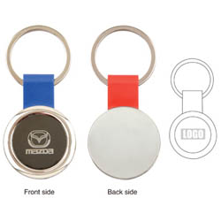 PersonalizedRound Key Tag