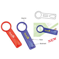 PersonalizedBookmark with Magnifier and Ruler