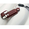 Personalized - USB with Leather case