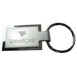 Personalized2 sided metal keyring