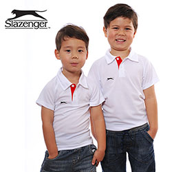 Personalized - Slazenger Kids Polo Shirt