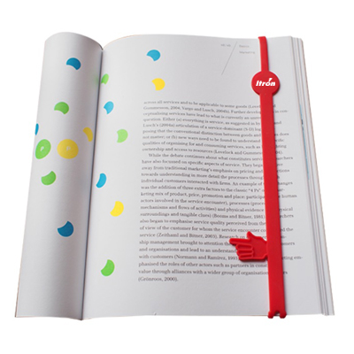 Personalized - Silicone Finger Bookmark