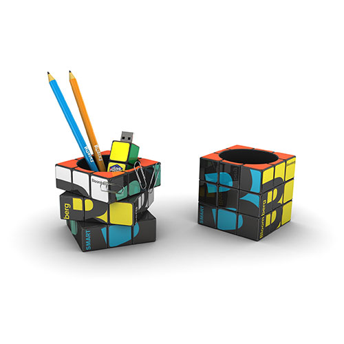 Personalized - Rubik`s Pen Pot