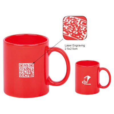 Personalized - Laser Engraved Mug