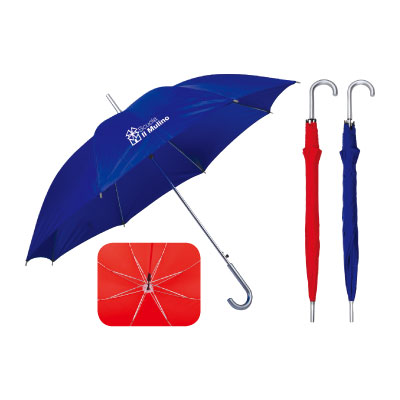 Personalized - Classic Silver Umbrella