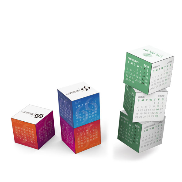 Personalized - Magnetic 360 Square Calendar