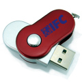 Personalized - USB Twist it Round