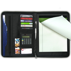 PersonalizedA4 Portfolio with Zipper - special prices!!!