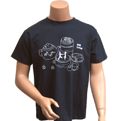 Personalized3 hour printed Black T shirts