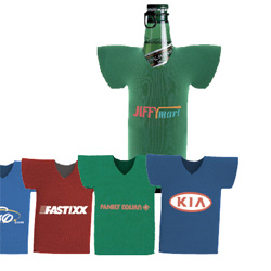 PersonalizedT Shirt Bottle Cooler