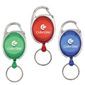 Personalized - Oval Retractable Badge Holder