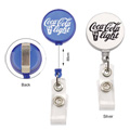 Personalized - Round Retractable Badge Holder