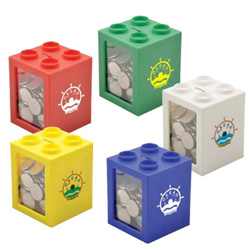 PersonalizedStack A Box Coin Bank
