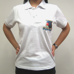 PersonalizedPhotoMe White Polo Shirts